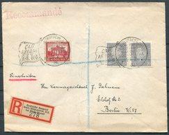 1932 Registered Seepost Cover. Hamburg - South America Line Ship. La Plata Dienst. CAP ARCONA. Southampton - Berlin - Deutschland