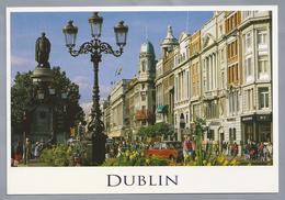 IE.- DUBLIN. Greetings From Ireland.. Ongelopen. - Gruss Aus.../ Gruesse Aus...