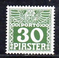 XP4598 - LEVANTE AUSTRIA 1908, Segnatasse Unificato 10 Pi. N. 14D Nuovo Integro  *** (2380A) . - Levant Autrichien