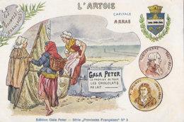 62  Pas  De  Calais  -  Divers  -  L'Artois  Capitale  Arras - Unclassified