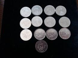 Lot De 13 Pièces De 5 Francs - 1993 En TTb - France