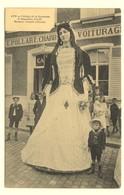 #10013 Lot Van 2 Postkaarten Ath, Met De Reuzen Madame En Monsieur Goliath - Cortège De La Kermesse Marcovici - Ath