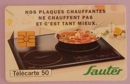 """TELECARTE 12/1997 SANS UNITE """"PLAQUES CHAUFFANTES"""" - Frankrijk"""