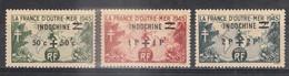 Petit Lot De Timbres Des ANCIENNES COLONIES FRANCAISES (Indochine, Mong Tze, Yunnanfou Et SARRE) - Neufs - France (ex-colonies & Protectorats)