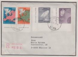 JOUGOSLAVIA REGISTERED MICHEL 1865/66, 1385/86,  EUROPA RADAR - 1945-1992 République Fédérative Populaire De Yougoslavie