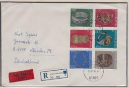 JOUGOSLAVIA REGISTERED MICHEL 1587/92 NECKLACE, RING - 1945-1992 République Fédérative Populaire De Yougoslavie