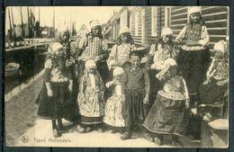 "CPA S/w AK German Empires 1916 Allemagne Feldpost""Types-Hollandais,Kindergruppe ,belebt ""1 AK Used - Europe"