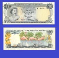 Bahamas  10    Dollar  -- 1974 - Bahamas