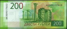 SOVIET UNION - RUSSIA - 200 Rubley 2017 UNC P.276 - Russie