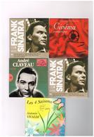 Lot 5 CD 4 Saisons Antonio Vivaldi -  Frank Sinatra N° 5 & 9 - André Claveau Vol. 20 - Classiques Du Cinéma Romantique - Música & Instrumentos