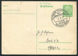 1937 Germany Deutsche Schiffspost Ship Stationery Postcard. Hamburg M.S. MONTE PASCOAL, London Cruise. - Briefe U. Dokumente