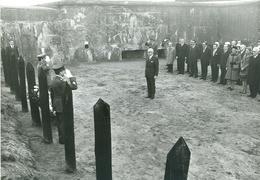 Persfoto Foto Photo Presse Belga (12,5 X 18 Cm) 1974 President Heinemann Fort Van Breendonk - Puurs