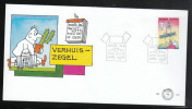 Niederlande 1996, FDC Freimarke, Kaktus / The Nederlands 1996, FDC, Definitive, Cactus - Sukkulenten