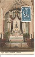 Carte Maximum Eglise ( Hongrie) Avec Timbre Europa  1er Jour - Europa-CEPT