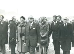 Persfoto Foto Photo Presse Belga (12,5 X 18 Cm) 1974 President Heinemann Fort Van Breendonk Koning Albert - Puurs