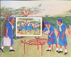 Tanzania 2004 Girl Guides In Tanzania 75th. Anniv. S/S - Tanzania (1964-...)
