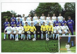 16.05.2006 - Féderation Luxembourgeoise De Football  FLF  Cadre National A - Cartes Maximum