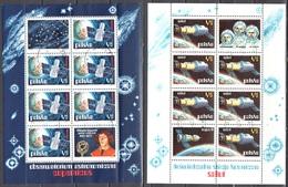 Poland 1973 - Astronomical Obserwatories In Space - Mi M/s 53-54 - MNH (**) - Blocs & Feuillets