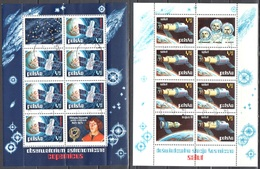 Poland 1973 - Astronomical Obserwatories In Space - Mi M/s 53-54 - Used - Blocs & Hojas