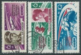 1963 RUSSIA USATO SPAZIO VOSTOK V E VI - V15-10 - Gebruikt