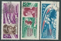 1963 RUSSIA USATO SPAZIO VOSTOK V E VI - V16-2 - Gebruikt