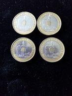Lot De 4 Piéces De 20 Francs 1993- Jeux Méditerranées En TTB - France