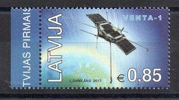LETTONIE - LATVIA - 2017 - ESPACE - SPACE - SATELLITE - VENTA-1 - - Latvia