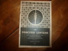 1929 LA PRINCESSE LOINTAINE ,piece En 4 Actes En Vers D'Edmond Rostand - Décors Et Costume Par Erté - Théâtre