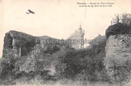 DECIZE 1912 AVIATION Des 15, 16, Et 18 AOÛT  Ruines Du Vieux Château - Decize