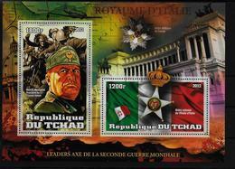 TCHAD   BF  ( 2012 ) * *  Medailles Guerre Italie Mussolini - Persönlichkeiten