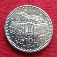 Gibraltar 10 Pence 2002 AC KM# 776 Gibilterra - Gibraltar