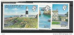 1989-1991 MNH Alderney Postfris - Alderney
