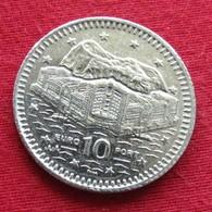 Gibraltar 10 Pence 2000 AA KM# 776 Gibilterra - Gibilterra