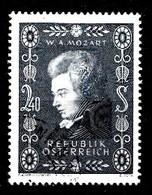 Autriche 1956 Mi.Nr: 1024 Geburtstag Von Wolfgang Amadeus Mozart  Oblitèré / Used / Gebruikt - 1945-.... 2de Republiek