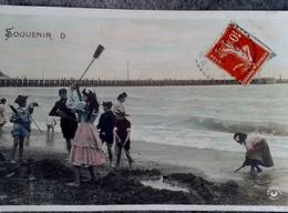 Belle Et Ancienne Carte Postale Voir Verso Souvenir De ..... - Souvenir De...