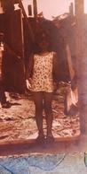 Little Girl  - Old Original Photo  - Childhood - Little Boy 1970s - Persone Anonimi