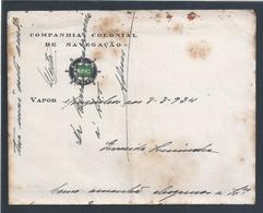 CCN - Companhia Colonial De Navegação, Lobito. Vapor Mouzinho 1934. Colonial Shipping Company, Lobito. - Transport