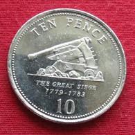 Gibraltar 10 Pence 2008 KM# 1082 Gibilterra - Gibraltar