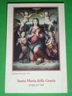 Santa Maria Della GRAZIA Raffaellino Del Colle Santuario Madonna Delle Grazie SANSEPOLCRO,Arezzo - Santino - Santini