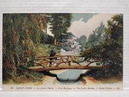 Saint-Omer. Le Jardin Public. Pont Rustique - Saint Omer