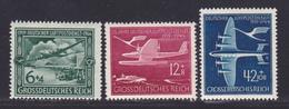 ALLEMAGNE AERIENS N°   59 à 61 ** MNH Neufs Sans Charnière, TB (D8744) Service Postal Aérien - 1944 - Poste Aérienne