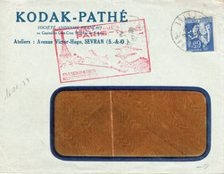 Premier Vol Paris Nice 16-02-1938 Neveloppe Kodak Pathé - France