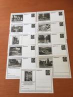 +++ Sammlung 11 Postkarten P236 1934 Deutsches Reich +++ - Collections (without Album)