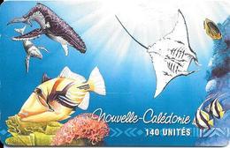 CARTE-PUCE-NOUVELLE CALEDONIE-NC67-140U-07/99 -SC7-LE LAGON-UTILISE-TBE-R°Tres Legere Strie - New Caledonia