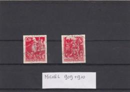 Deutsches Reich Briefmarken 909 & 910 - Germany