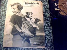 Revue Suisse Ecrite Majoritairement En Allemand Neueste Illustrierte Les Dernieres Nouvelles Illustrèes Du/ 28/11/1937 - Livres, BD, Revues