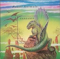 Tanzania  1994 Prehistoric Animals S/S - Tanzania (1964-...)