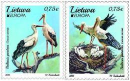 EUROPA CEPT - 2019 - Lithuania - National Birds - Lituanie