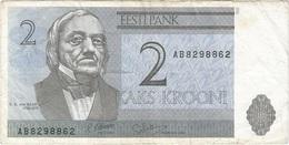 Estonia 2 Krooni 1992 Pk 70 A - Estonia