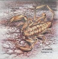 Tanzania   1994 Arachnids S/S - Tanzania (1964-...)